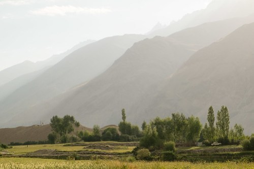 Afghan Mountains from Langar