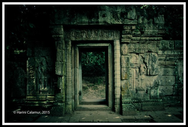 Angkor Thom - the doorway to the royal garden