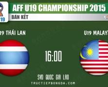 Xem lại: U19 Thái Lan vs U19 Malaysia