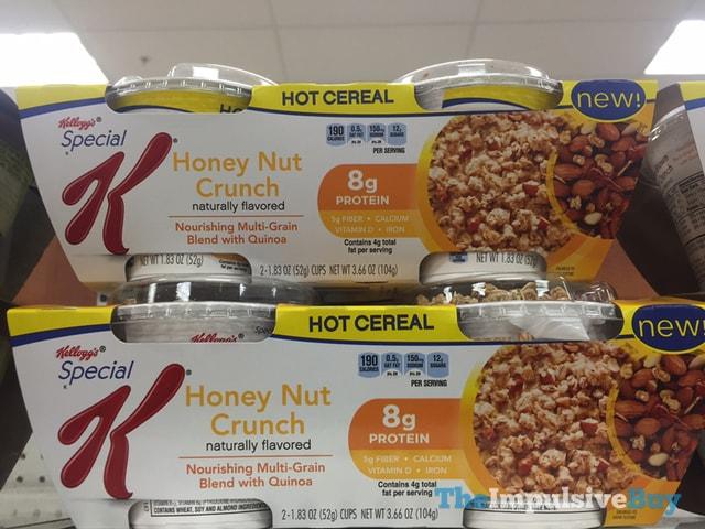 Kellogg's Special K Honey Nut Crunch Hot Cereal