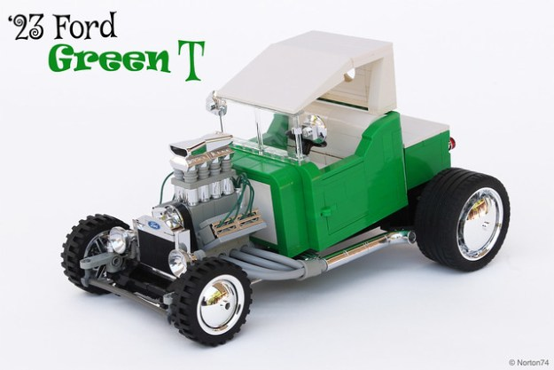 """""""Green T"""" - '23 Ford T-bucket"""