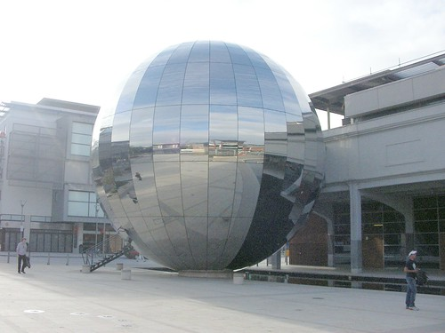 Giant mirror ball