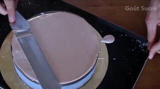 Entremet Trois Chocolats