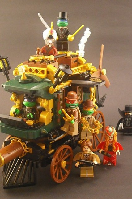 Steam Age Mutant Ninja Turtles