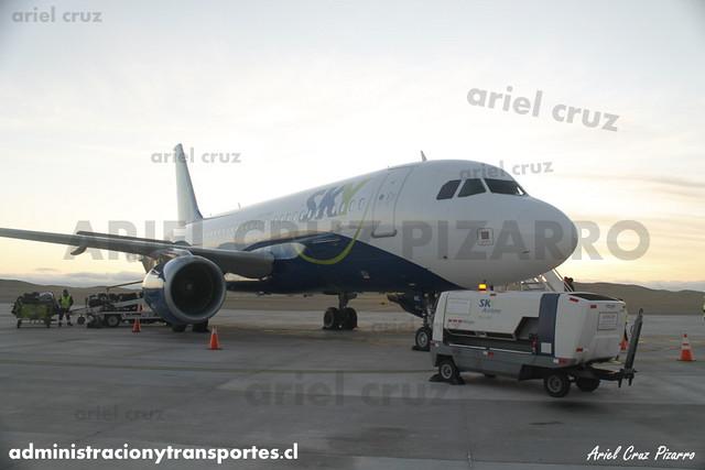 Sky Airline - Copiapó / Desierto de Atacama (CPO) - Airbus A319 CC-AIC