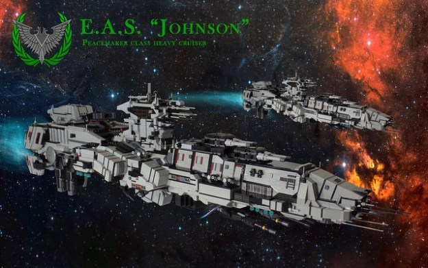 Earth Alliance Ship - Johnson