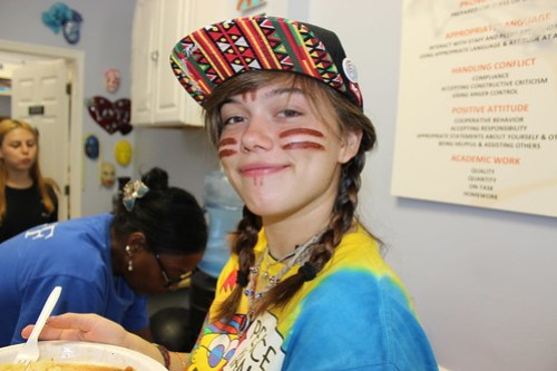 Teen in drug treatment center
