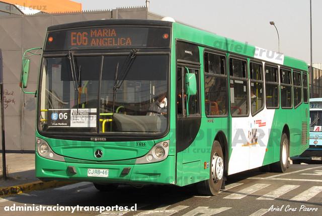 Transantiago - Buses Vule - Caio Mondego H / Mercedes Benz (CJRB46)