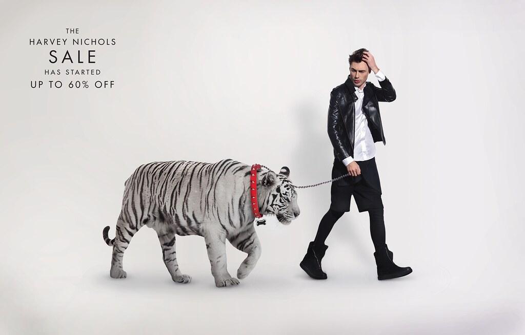 Harvey Nichols - Pet White Tiger