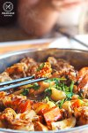 Sydney Food Blog Review of Simmer Huang, Chatswood: Squid in hotpot