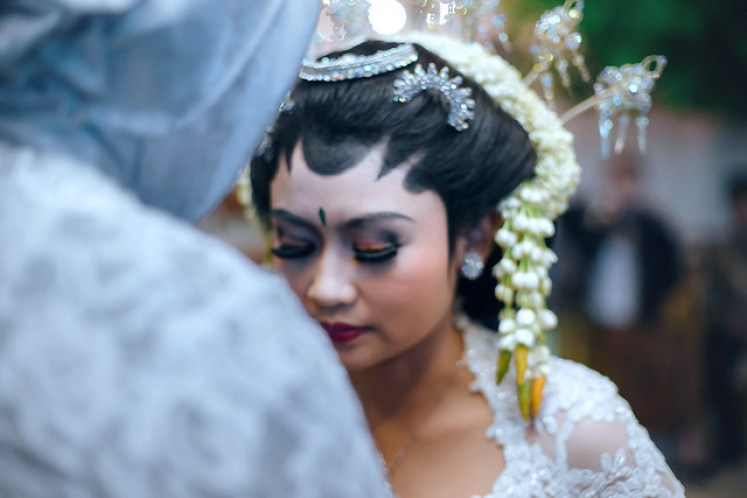 gofotovideo wedding at CIMB Niaga Bintaro akad nikah 016