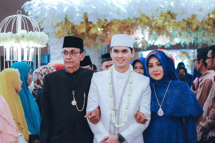 gofotovideo wedding at universitas esa unggul 043
