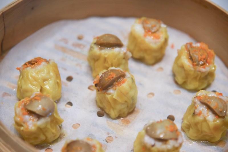 steamed abalone siu mai - jade fullerton hotel dimsum