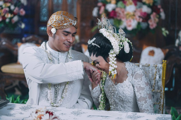 gofotovideo wedding at CIMB Niaga Bintaro akad nikah 025