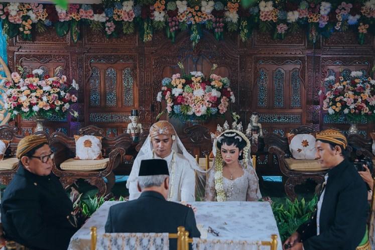 gofotovideo wedding at CIMB Niaga Bintaro akad nikah 002