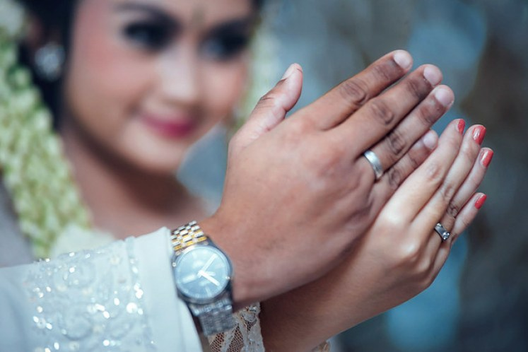 gofotovideo wedding at CIMB Niaga Bintaro akad nikah 020
