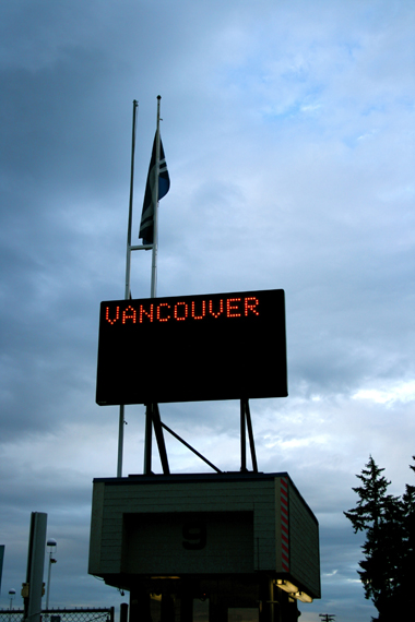 anti Ferry Times (Vancity sign)