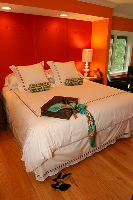 Orange Cottage by Civility Design