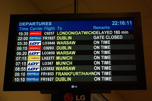 Everyone loves a delayed flight