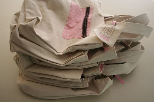 pile of wedding bags