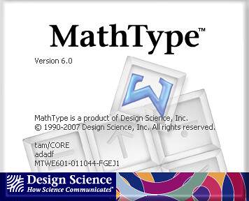 Design Science MathType   B g cng thc ton hc trc quan