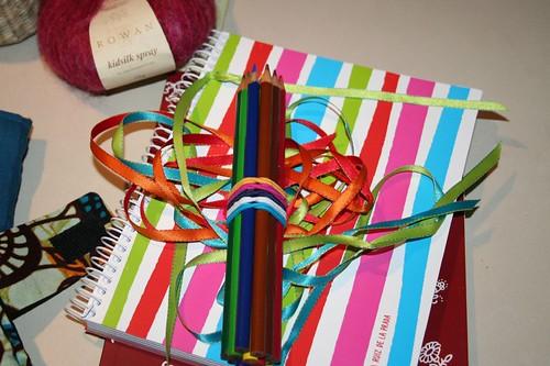 art, writing supplies