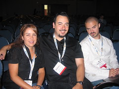 Barbara Boser, Caesar, and Dax - SES San Jose 2007