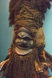 Asmat Demon Mask natural fiber New Guinea