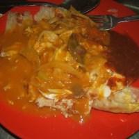 Malaysian Breakfast : Roti Banjir