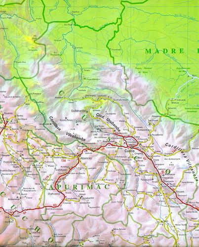 03b - Mapa vial del Perú (edición 2007); road map of Peru (2007 edition).