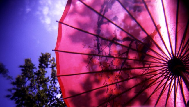New red parasol