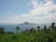 Island on way to Pardito