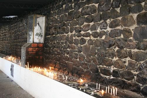 Candles for the Virgen de Chaguaya