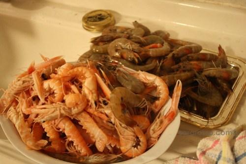 Prawns & Crawfish for Spaghetti allo Scoglio