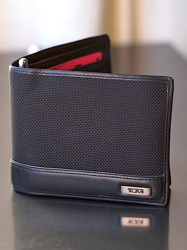 My wallet (slimmed)