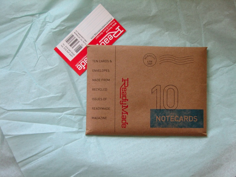 ReadyMade Notecard Sets