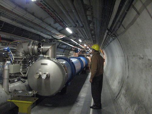 LHC near point 5