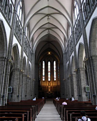 Interior, Myeongdong Cathedral