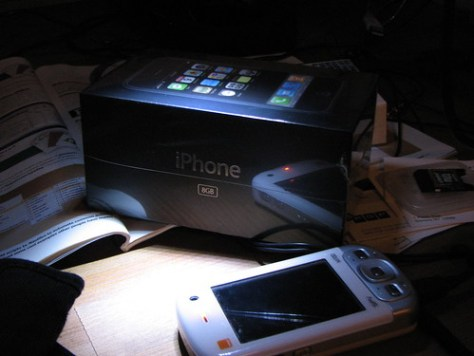 iPhone boxed