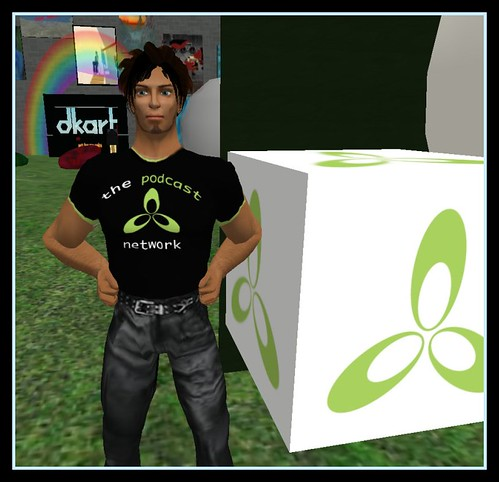 TPN T-shirt in Second Life