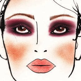 Voile MAC Face Chart