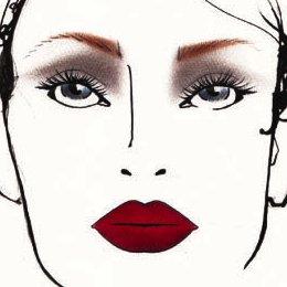 MAC Redd Velvet Face Chart