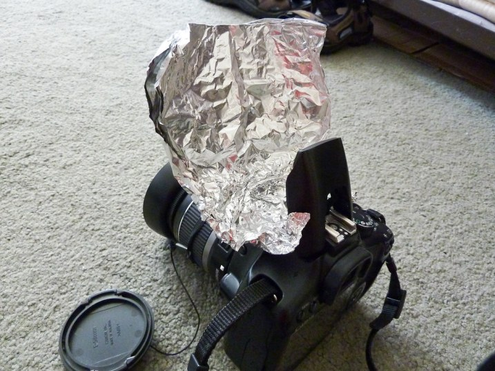 Foil Flash Reflector
