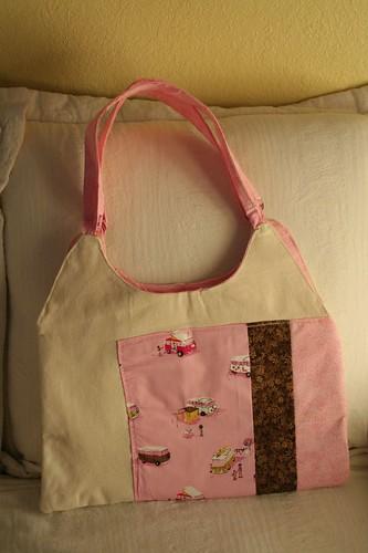 pink hippie bag