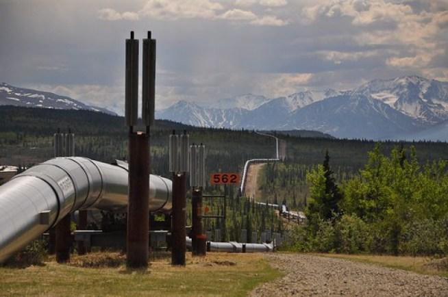 Marker 562 Alaskan Pipeline
