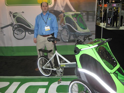 Zigo -- bike + child carrier