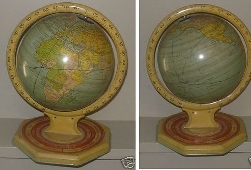 Globes as Decor