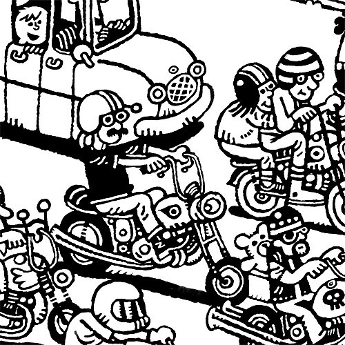 Pieces of Everything Goes: Motorcycles