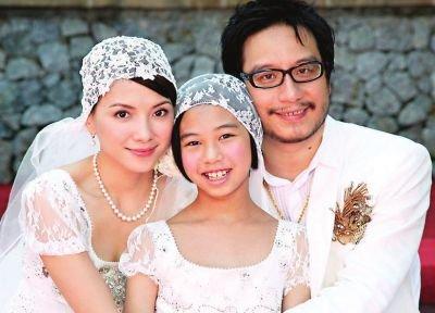 跌破眼鏡!演藝圈女神們出嫁直接當後媽 「顏質女神」徐若瑄和繼女激似姐妹花