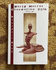 World Horror Convention 2016 Souvenir Book